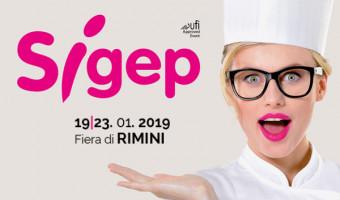 Sigep exhibition (Rimini-Italy) 19-23 January 2019